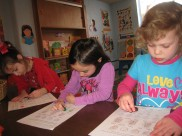 Some of our lovely pre-school students!